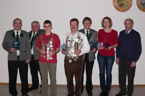 Schützenkönige und Meister 2011 - Hubertus Blindheim